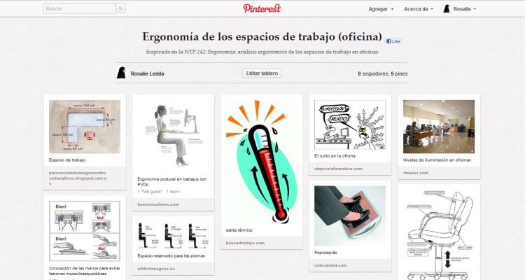 Ergonomía de los espacios de trabajo (oficina) by Rosalie Ledda