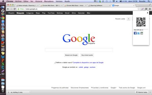 Captura de pantalla de QR-Code Tag Extension