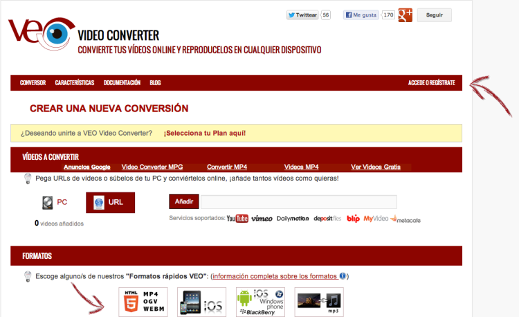 Captura de pantalla Veo Video Converter